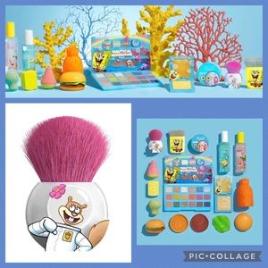 WnW Spongebob Collection Round Kabuki Brush